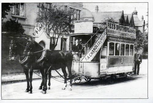 Tramway to Royal Leamington Spa