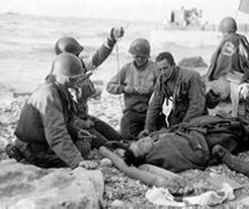 From New York to Omaha beach