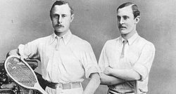 Ernest and William Renshaw, Wimbledon Champions
