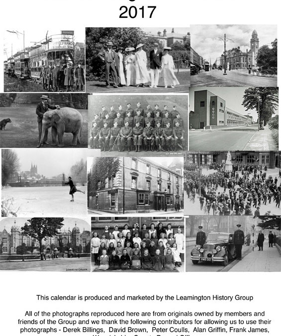 Old Leamington Calendar 2017