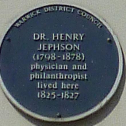Jephson-Plaque