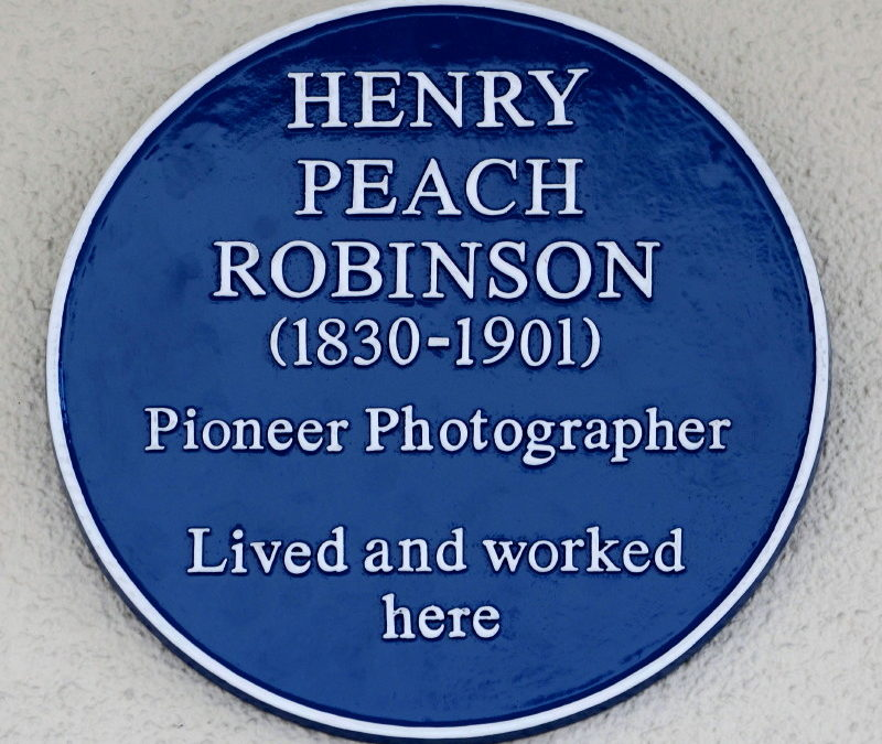 Henry Peach Robinson: pioneer Victorian photographer