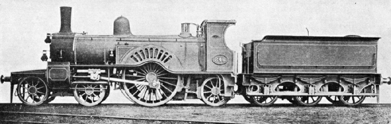 Massey Bromley, Railway Locomotive Engineer