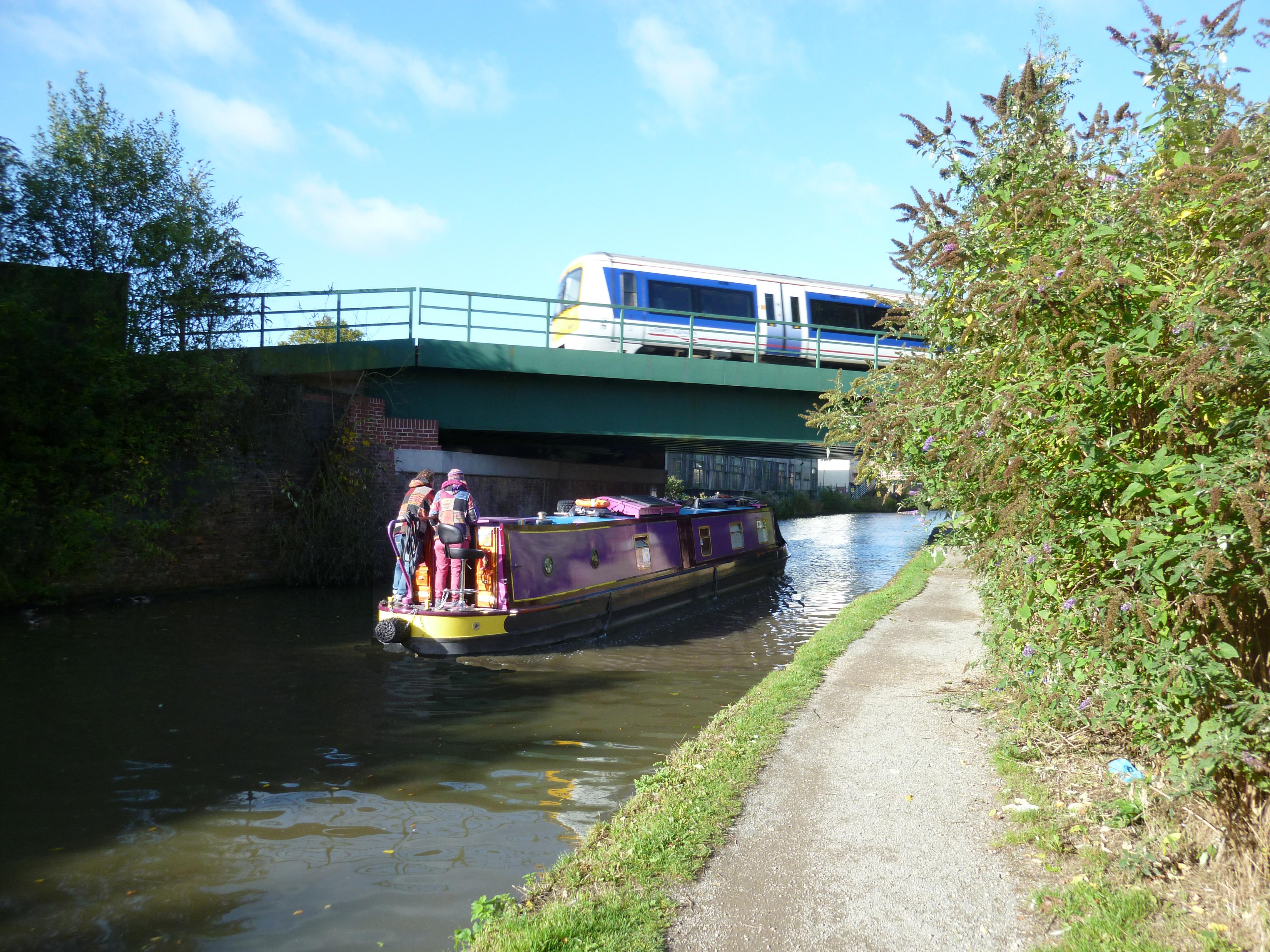 The Canal at Royal Leamington Spa