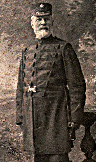 William Thomas Edwards, Chief Inspector of Police (1842-1909)