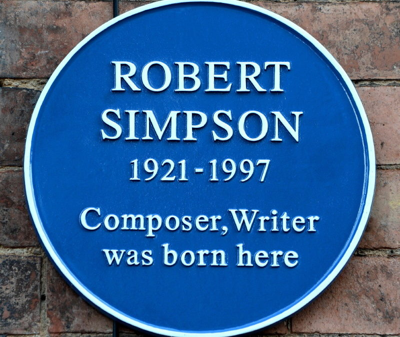 Robert Simpson, Composer and Writer, 1921 – 1997