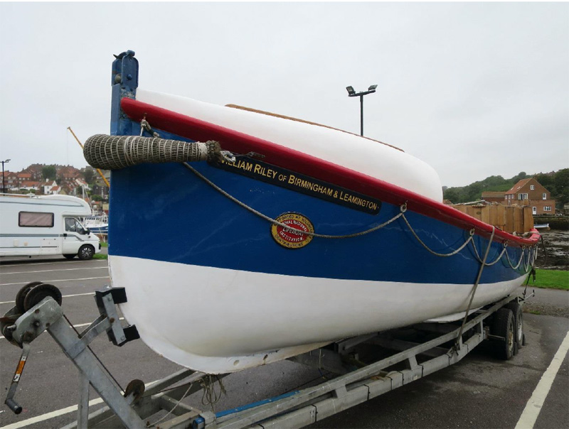 William Riley and the Birmingham and Leamington Lifeboat