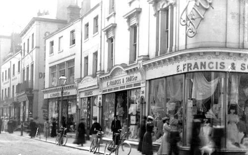 E Francis & Sons, Bath Street