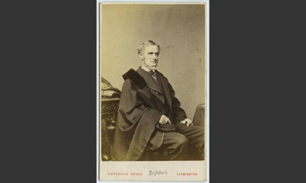 Confederate President Jefferson F Davis in Leamington Spa