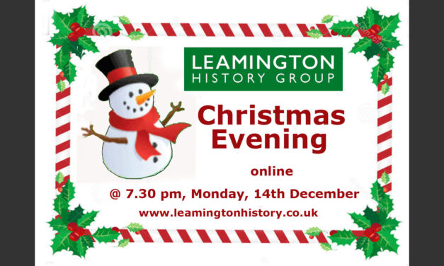 Our Christmas Evening, 7.30 pm on Monday, 14th December 2020