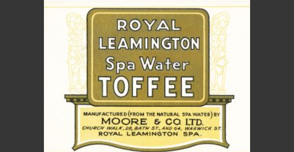 Leamington Spa Water Toffee