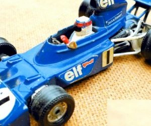 Leamington- built cars: the Tyrrell 001