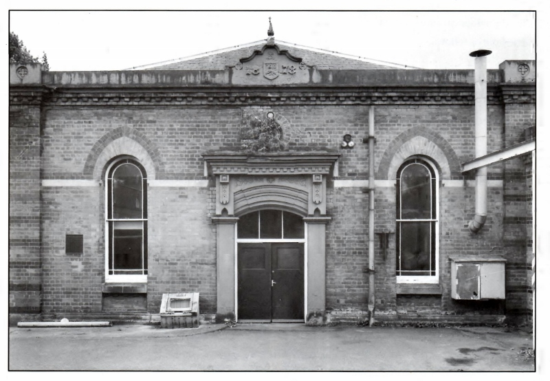 Campion Terrace Water Works, 1988
